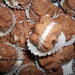 recette Sablés en rosaces au chocolat