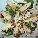 recette salade de poulet mariné vapeur