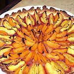 recette tarte étoilée aux nectarines