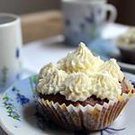 recette Cupcakes au chocolat et glaçage au cream cheese