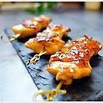 recette Yakitori Poulet