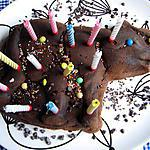 recette Gateau d'anniversaire au chocolat