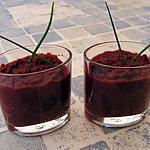 recette Verrine de betteraves au balsamique
