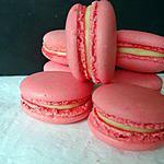 recette Macarons au citron façon Pierre Hermé