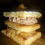 recette Mille feuille pomme, carambar