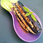 recette Millefeuilles d'aubergines à la grecque
