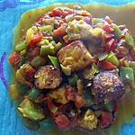 recette Paneer aux poivrons