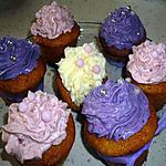 recette Cupcakes aux fruits rouges