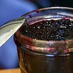recette Confiture de mûres parfumée à la menthe fraiche
