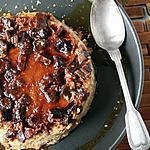 recette Crème caramel renversée aux bananes séchées & Rhum