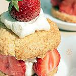 tea biscuit : recette Shortcake à la Fraise ou Scone garni { Tea Time }
