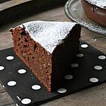 recette Délicieux Gâteau chocolat, Amande & pommes râpées [Sans beurre ]