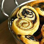 recette Palmitos feuilletés aux 2 olives {Tapenade}