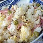 recette le riz cantonnais