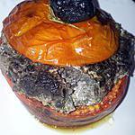 Tomates farcies chévre-tapenade