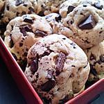 recette Cookies moelleux vanillé aux pépites de chocolat