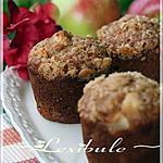 recette Muffins ~tarte aux pommes~