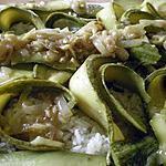 recette Courgettes épicées du Maghreb avec riz vapeur