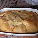 recette Clafoutis au  jambon et à la mimolette