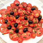 recette Salade de tomates cerise