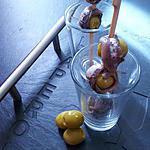 recette Tapas;olives verte aux anchois