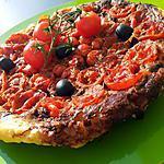 Tarte tatin de tomates cerise à la tapenade