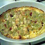 recette gratin de ravioles tomates séchées et chorizo