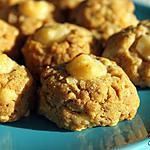 recette Cookies au Comté et à la noisette