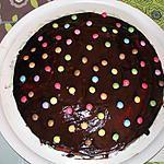 recette gâteau aux pépites de chocolat et smarties