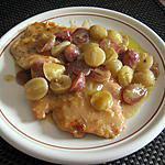 recette Escalopes de dinde aux raisins