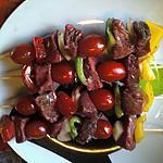 recette Brochettes de boeuf marinées aux Herbes de Provence