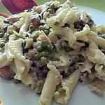 recette pates aux fruits de mer
