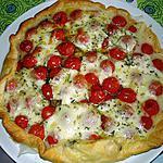recette quiche aux tomates cerises et mozzarella