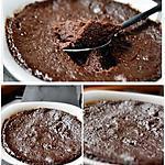 recette Fondant  Chocolat au four micro-ondes