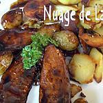 recette Aiguillettes de Canard Sauce à la Chicorée