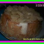 recette charlotte aux petits beurre et ananas