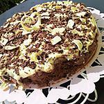 Tiramisu au cookies et trois chocolat (dessert concocter pour les 20ans de ma mini belle soeur et mes 30ans)