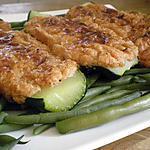recette Courgettes farcies végétariennes et haricots verts