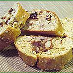 Cantuccini amandes et raisins secs (croquants Italiens)