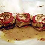 recette Aubergine, tomates au chêvre