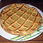recette Tarte à la compote de pomme