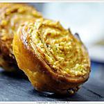 recette Escargot feuilleté aux herbes épicés