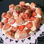 recette Piéce montée roses de reims