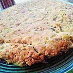 recette Galette de boeuf aux courgettes