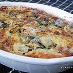 recette gratin de courgettes au saint-agur