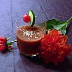 recette Gaspacho betteraves et tomates