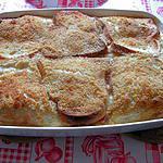 recette Gratin à la mozzarella fondante