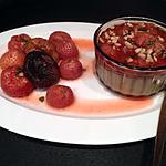 recette Panna cotta et fraises rôties au thé genmaicha