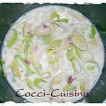 recette Soupe au lait poireaux-pomme de terre