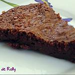 recette Fondant au chocolat et beurre demi-sel